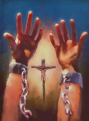 gesù spezza le catene del peccato